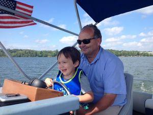 Landen on boat 3