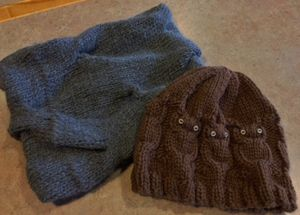 Cowl and Hat