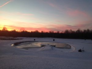 Sunset - January 19