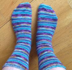 2014_05_11 - Handknit socks 2