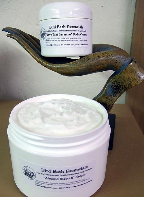 Luscious cream lotion!