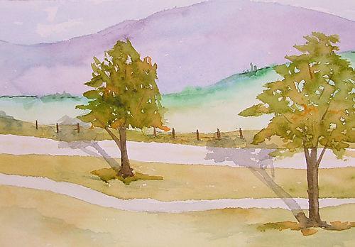 Landscape at Sautee Nacoochee, GA (2007)
